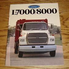 Original 1988 Ford Truck L-7000/8000 Sales Brochure 88