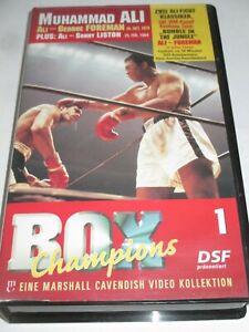 BOX Champions 1 - VHS/Sportfilm/Muhammad Ali/George Foreman/Sonny Liston