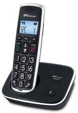 Teléfonos fijos inalámbricos identificador de llamadas 2 terminales inalámbricas
