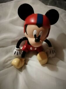 Mickey Mouse Hard Plastic Approx 5 Inches Tall