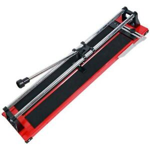 "LARGE 24"" 600MM TILE SAW HAND FLOOR WALL TILE CUTTER CUTTING MACHINE NEW"