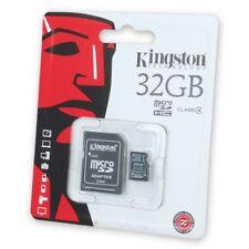 Scheda MicroSD KINGSTON 32GB classe 4 per Huawei P9 e P10 Lite e Plus