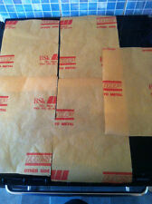 Rust inhibitor paper x5 A4 sheets - live steam, engineer etc