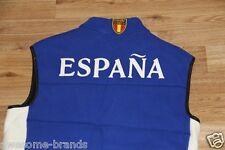 Ralph Lauren Down Quilted  Fleece Vest Royal Blue Spain Flag Big Pony Vest men M