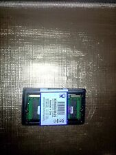 Kingston sodimm RAM 2GB 800MHz DDR2 PC2-6400 Non-ECC CL6 KVR800D2S6/2G