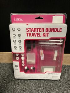 BRAND NEW! Nintendo 3ds Starter Bundle Travel Kit