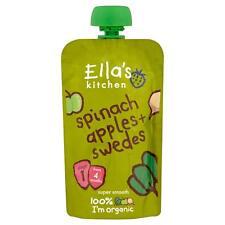 Ella's Kitchen Stage 1 épinards, Pommes & Suédois 120 g (Pack de 7)