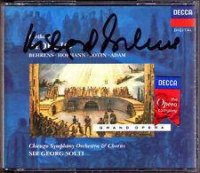 Hildegard BEHRENS Signiert BEETHOVEN FIDELIO Hans Sotin Peter Hofmann SOLTI 2CD