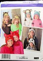 Simplicity Pattern 1953 Size S-L Misses & Childs Hat 3 Sizes Uncut 2011