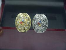 2pcs 2008 2008 Pittsburgh Steelers championship ring //