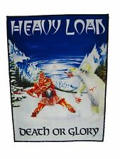 HEAVY LOAD Death or Glory Back Patch - no shirt Manilla Road Cirith Ungol Anvil