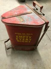 VINTAGE  EAGLE MODEL  906-FL GARBAGE CAN INDUSTRIAL RAG GAS OIL DISPOSAL