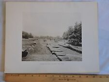 ORIG 1893 ORANGE COUNTY West Point Fort Clinton NY GELATIN PHOTO GRAVURE