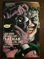 BATMAN The killing Joke Deluxe Edition Hardcover 9.0 VF/NM Very Fine Unread