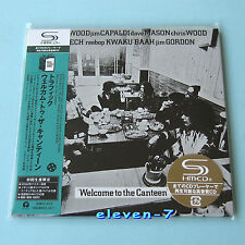 TRAFFIC Welcome to the canteen JAPAN mini lp cd SHM Steve Winwood brand new ss
