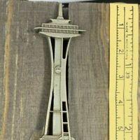 Seattle Washington Space Needle Pewter Collectible Spoon