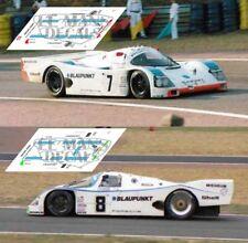 Calcas Porsche 962C Le Mans 1990 7 8 1:32 1:43 1:24 1:18 962 slot decals