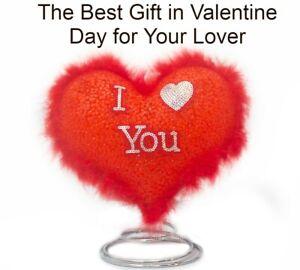 I Love You Light Up Table Base Heart Lamp Valentine Gift Girlfriend Boyfriend