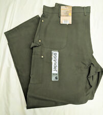 Carhartt B01 Double Front Work Loose Fit Dungaree 46x32 Moss [BN8ab-01]