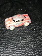 Miniature Diecast Barclay Car for Auto Transport - Red Sedan