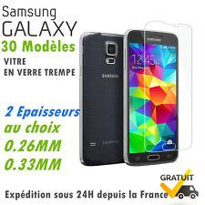 Film Vitre protection écran verre trempé Samsung galaxy S6/S5/S4/J3/J5/A3/A5/A8