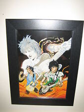 Rolling Stones 4 Pictures from Ronnie Wood's 'The Famous Flames' Collection