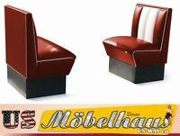 HW-70-R American Dinerbank Sitzbank Diner Bänke Möbel 50´s USA Style Gastronomie