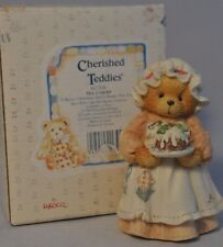 Cherished Teddies - Mrs Cratchit - 617318 - A Beary Christmas & A Happy New Year