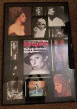 Barbra streisand Framed Photo Collage
