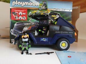 Playmobil Top Agents 4878 Robo Gangster SUV komplett mit OVP und Anleitung