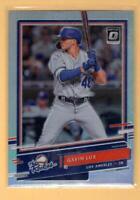 2020 Donruss Optic The Rookies Holo #8 Gavin Lux NM-MT Dodgers ID:49519