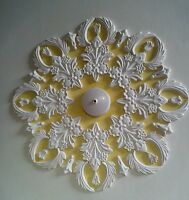 Plaster ceiling rose/design,Art Deco Style and handmade