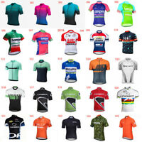 2020 Breathable Cycling Short Sleeve Jersey Mens MTB Shirt Bicycle Tops H10
