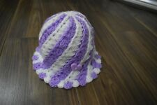 Purple Candy  hat,  photo prop /Christmas  gift, winter hat 1-3 Years old girl
