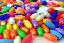 250 cuentas de plástico opaco Mezclado Color Brillante 8 mm ideal para hacer pulseras AB0218