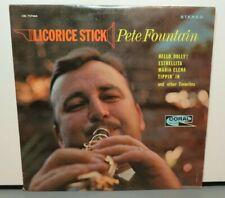 PETE FOUNTAIN LICORICE STICK (VG+) CRL-757460 LP VINYL RECORD