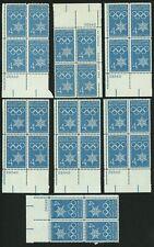 1960 4c US Postage Stamps Scott 1146 Winter Olympics Lot of 28