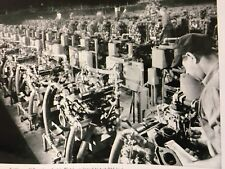 1953 FIRST BUICK V8 ENGINE PRODUCTION 225 AN HR. FLINT, MI. 12X18 IN. POSTER