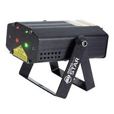 American DJ MICRO STAR Laser Effect Light - Green & Red - Adjustable / Auto Mic