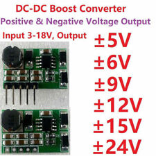 ±5V ±9V ±12V ±15V ±24V Positive&Negative Dual DC-DC Boost Step-up Volt Converter