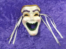 Vintage Masquerade Ceramic Mask Joker Wall Decorative Decor