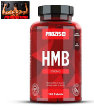 HMB 3000 mg 180 cpr Prozis - Beta idrossi beta metil butirrato - Anti Catabolico