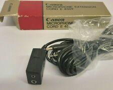 Canon Microphone Extension Cord E 450Y