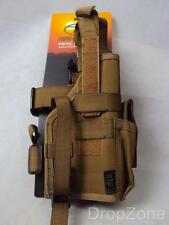 Highlander R/H Drop Leg Pistol Holster, Molle Compatible Airsoft Paintballing