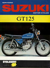 GT125 SHOP MANUAL SERVICE REPAIR SUZUKI BOOK 125