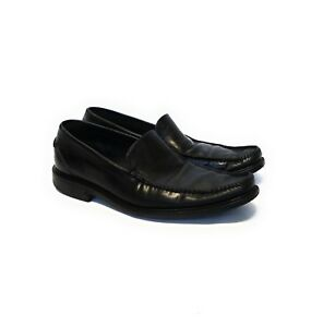 Cole Haan Air Mens Black Patent Leather #5042176 Loafers Oxfords Shoes 8.5