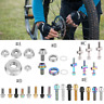 Bolt Screw Fastener with Washer Set/ Lock Nut Cycling Accessory for MTB Bike