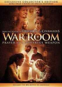 War Room DVD CHRISTIAN - From Creators of FIREPROOF & COURAGEOUS