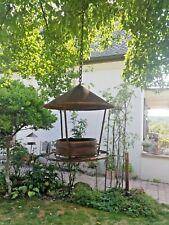 Vogel Futterstelle Futterhaus Vogelfutterhaus Futterplatz zum hängen Rost Optik