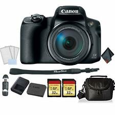 Canon PowerShot SX70 HS Digital Camera Bundle +2X 32GB Memory Cards + SD Card US